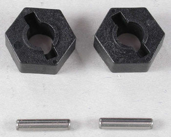 4954 Hex Wheel Hubs/Pins (2)