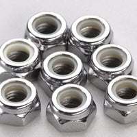 4147 Nylon Locknuts 5mm (8)