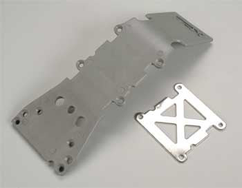 4937A Skid Plate Front Plastic Gray
