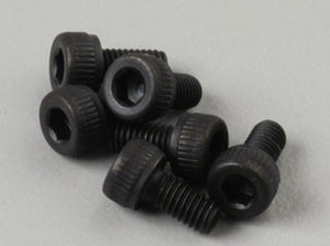 2554 Cap-Hd Hex Scws 3x6mm (6)
