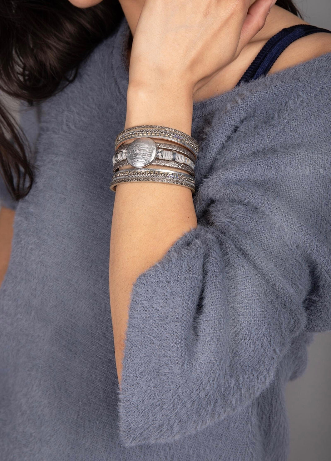 Optical Layered Bracelet - Radix Boutique
