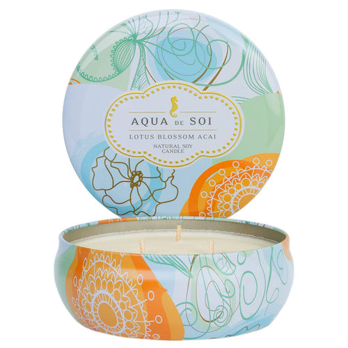 21 oz Lotus Blossom Acai Three Wick Soy Candle - Radix Boutique
