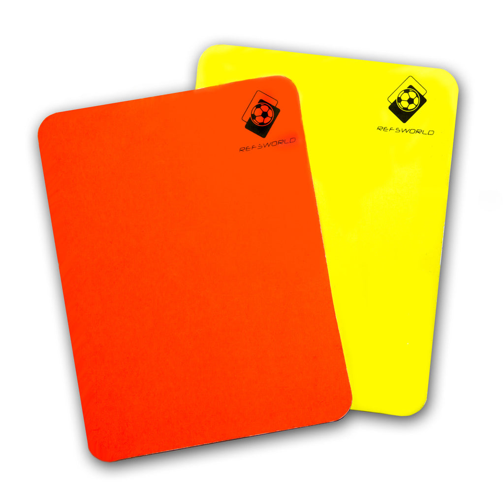 Refsworld BIG Red and Yellow cards