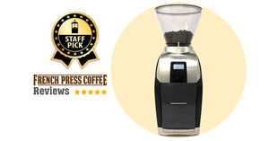 Review of the Baratza Virtuoso + (Plus) Coffee Grinder, Staff Pick