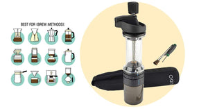 Lido E-T Hand Coffee Grinder Review: Micro settings for Espresso, Aeropress or French Press