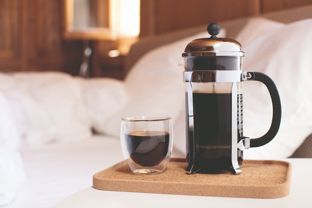 Hot Coffee - Bodum Chambord French Press