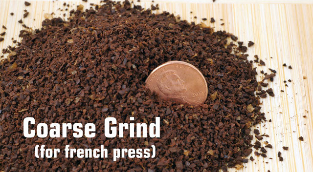 can you use pre ground coffee in a french press
