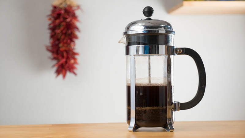French Press Coffee Maker With Timer : How to make perfect French Press Coffee - Brew Guide and Tips FrenchPressCoffee.com
