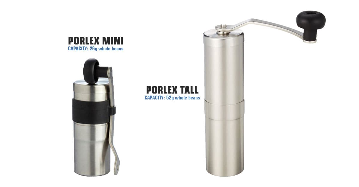 Porlex Tall and Mini - Coffee Grinders
