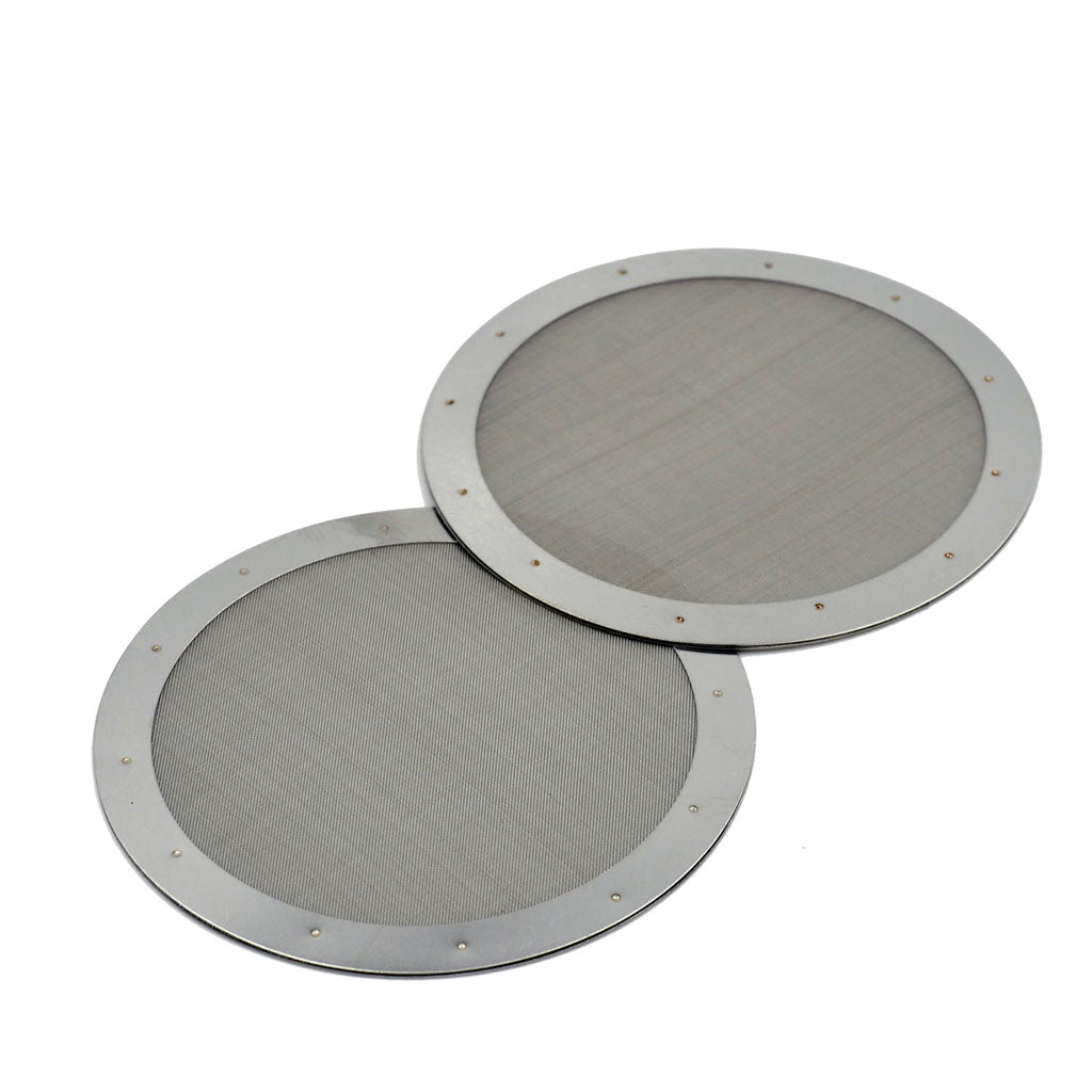 1X Stainless-Steel Mesh Coffee Metal Reusable Filter For Aeropress Coffee Maker