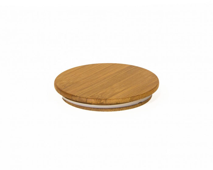 Airscape Ceramic Canisters Replacement Bamboo Lid, Spare Part for Airscape