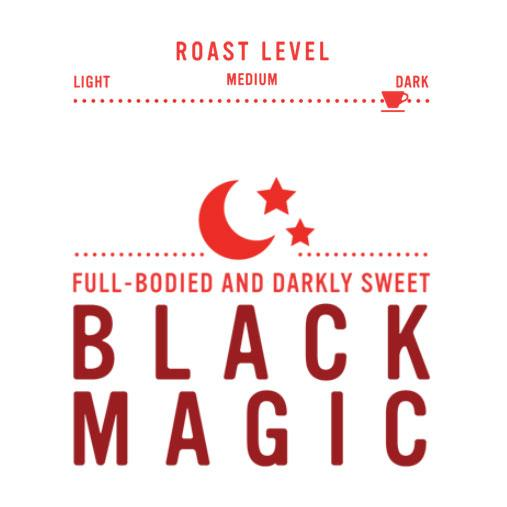 Black Magic - Dark Roast - Whole Bean Coffee - Red Rock Roasters, 12 oz.