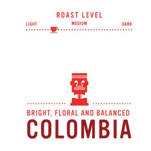 Coffee Beans - Colombia - Light-Medium Roast, Whole Bean Coffee, Red Rock Roasters, 10 Oz