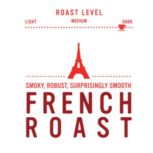 Coffee Beans - French Roast - Dark Roast, Whole Bean Coffee - Red Rock Roasters, 10 Oz