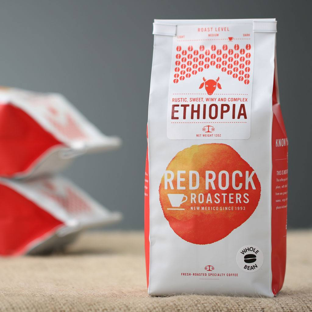 Coffee Beans - Red Rock Roasters Ethiopia Whole Bean Coffee