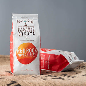 Coffee Beans - Red Rock Roasters Organic Espresso Strata - Whole Bean Coffee