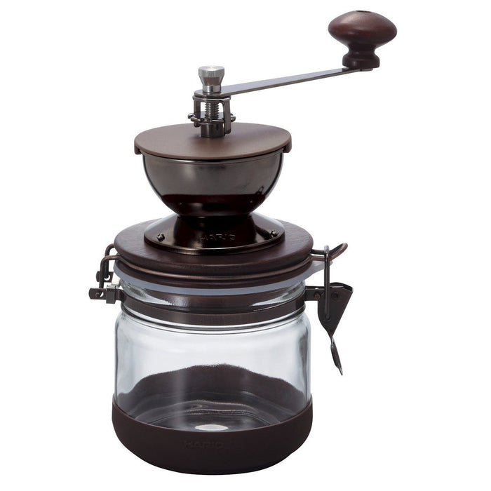 Hario Coffee Grinder, Canister Mill, Large Capacity 120 g.