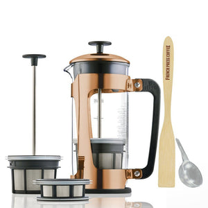 Coffee Press - Espro Press P5 - Copper French Press Coffee Maker (EXCLUSIVE: Free Coffee Stir Paddle)