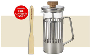 Coffee Press - Harior Trebi (Trevi) - Hario French Press For Coffee And Tea, 20 Oz. (600 Ml.)
