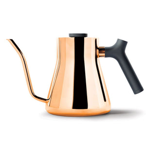 Stovetop Kettles - Fellow Stagg - Stovetop Gooseneck Kettle With Thermometer, 1 L (33.8 Oz.)