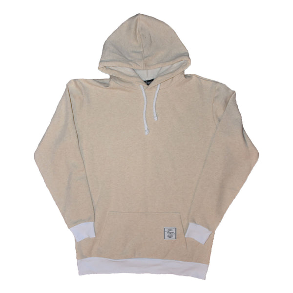 01 Elongated Hoodie Almond