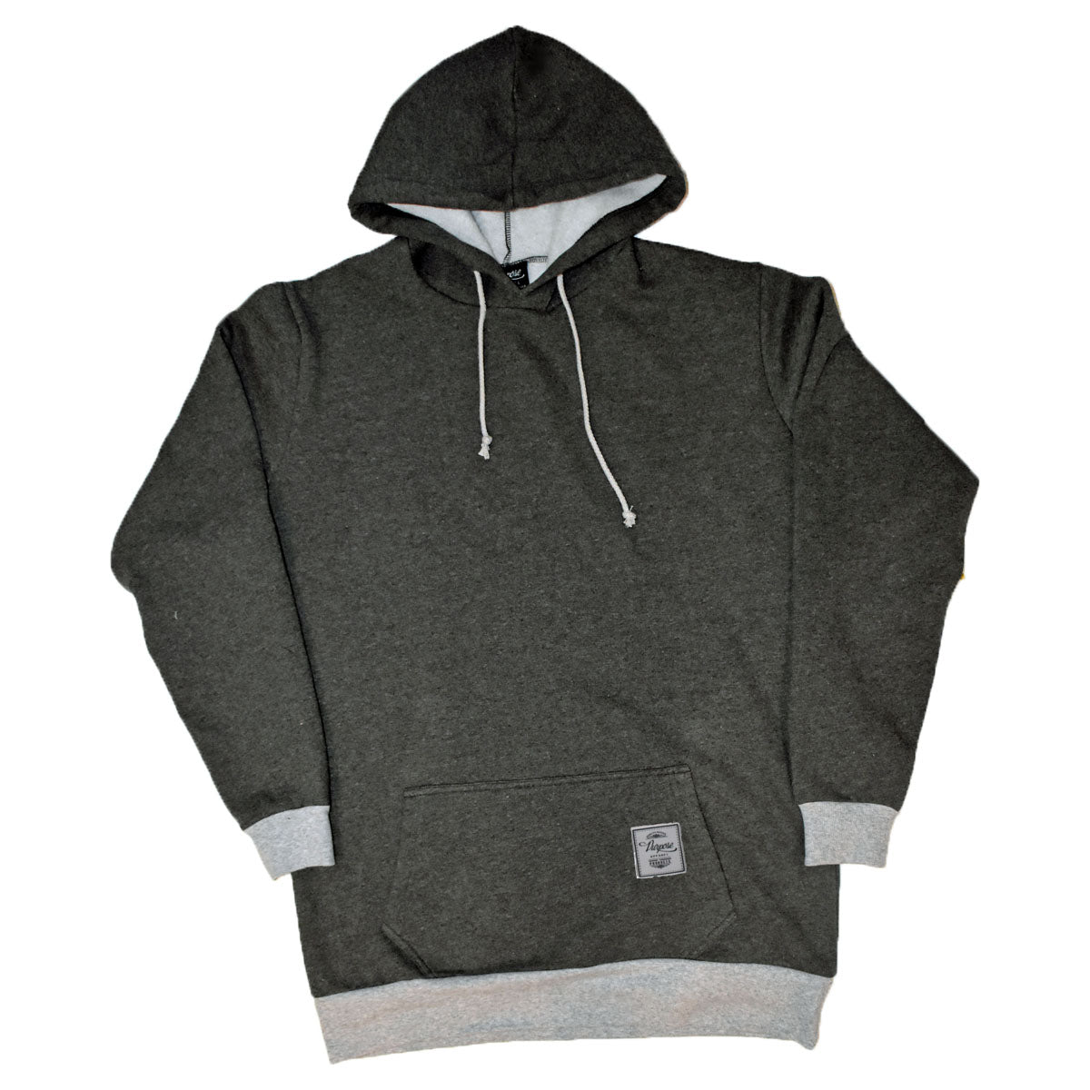 01 Elongated Hoodie Charcoal