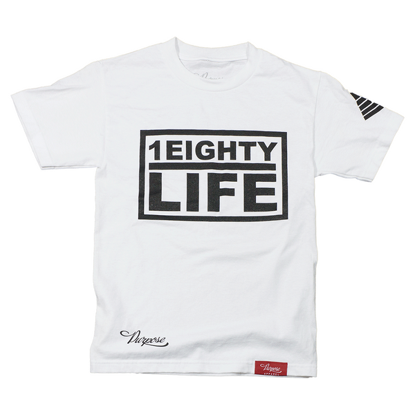 1Eighty Life Tee White