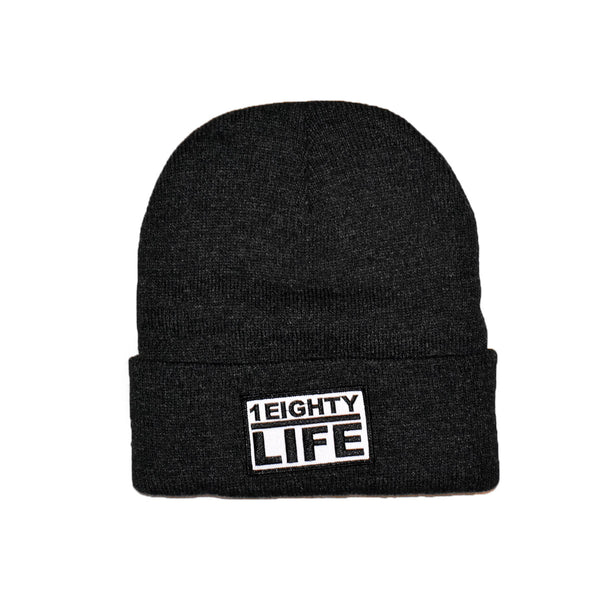 1Eighty Life Beanie Charcoal