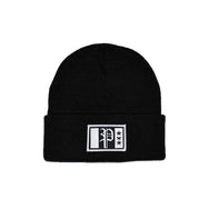 Brix Patch Beanie Black