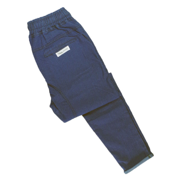 Cuffed Denim Chinos