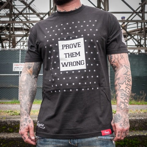 Prove Them Wrong Tee Black