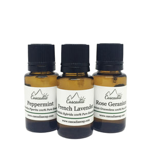 100% Pure Essential Oils by The Cascadia Soap Co.