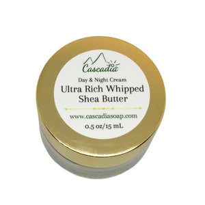 Ultra Rich Whipped Shea Butter Cream by The Cascadia Soap Co.