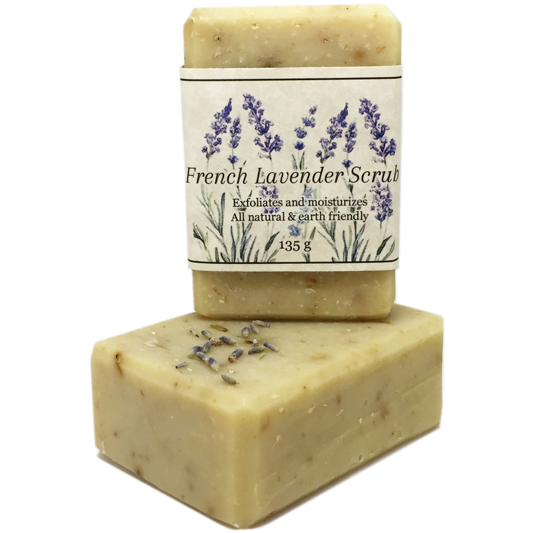 French Lavender Scrub by The Cascadia Soap Co.