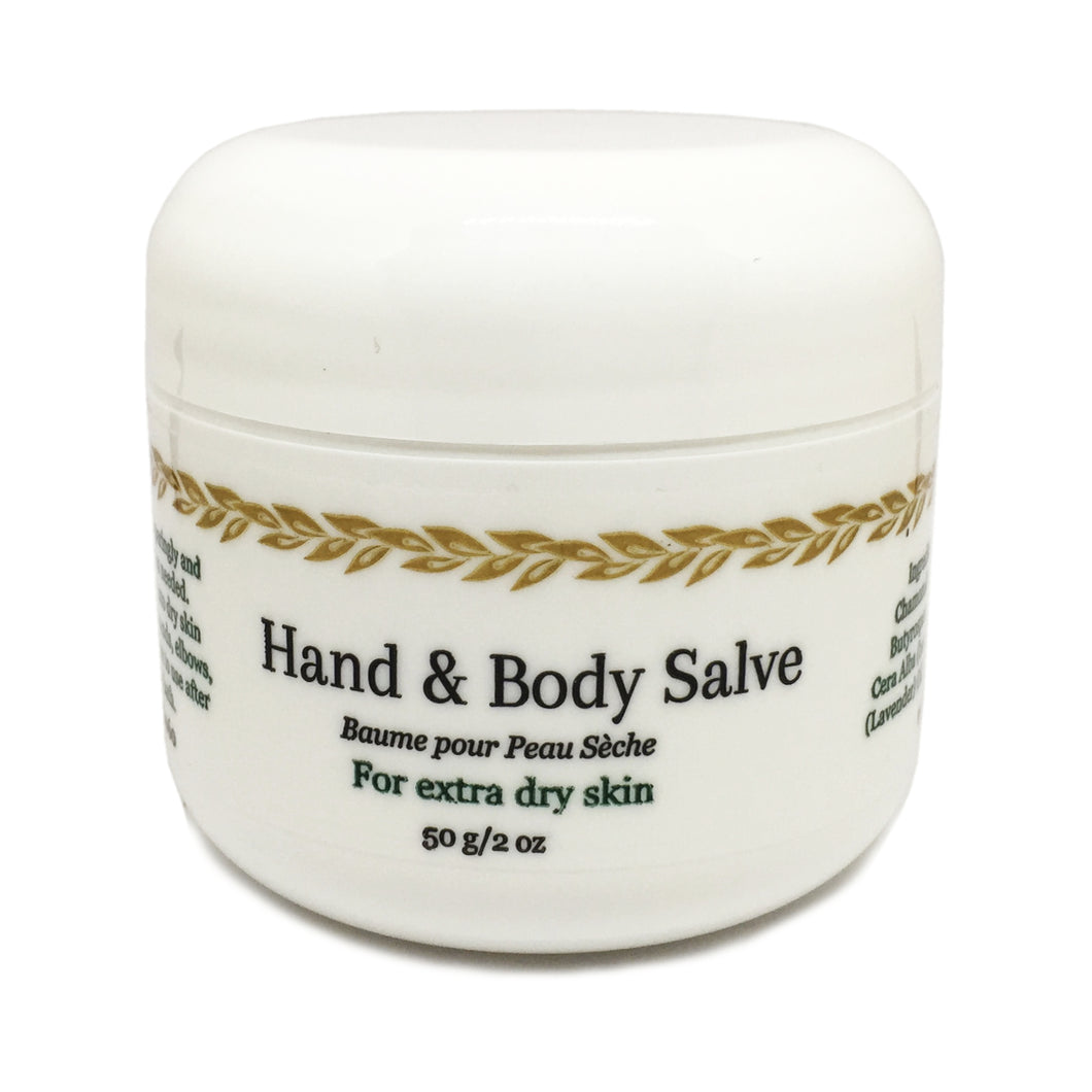 Hand & Body Salve for Extra Dry Skin by The Cascadia Soap Co.