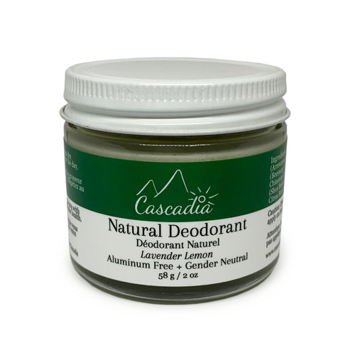 Natural Deodorant by Cascadia Skincare