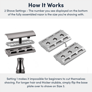 Rockwell 2C Double-Edge Safety Razor - How It Works