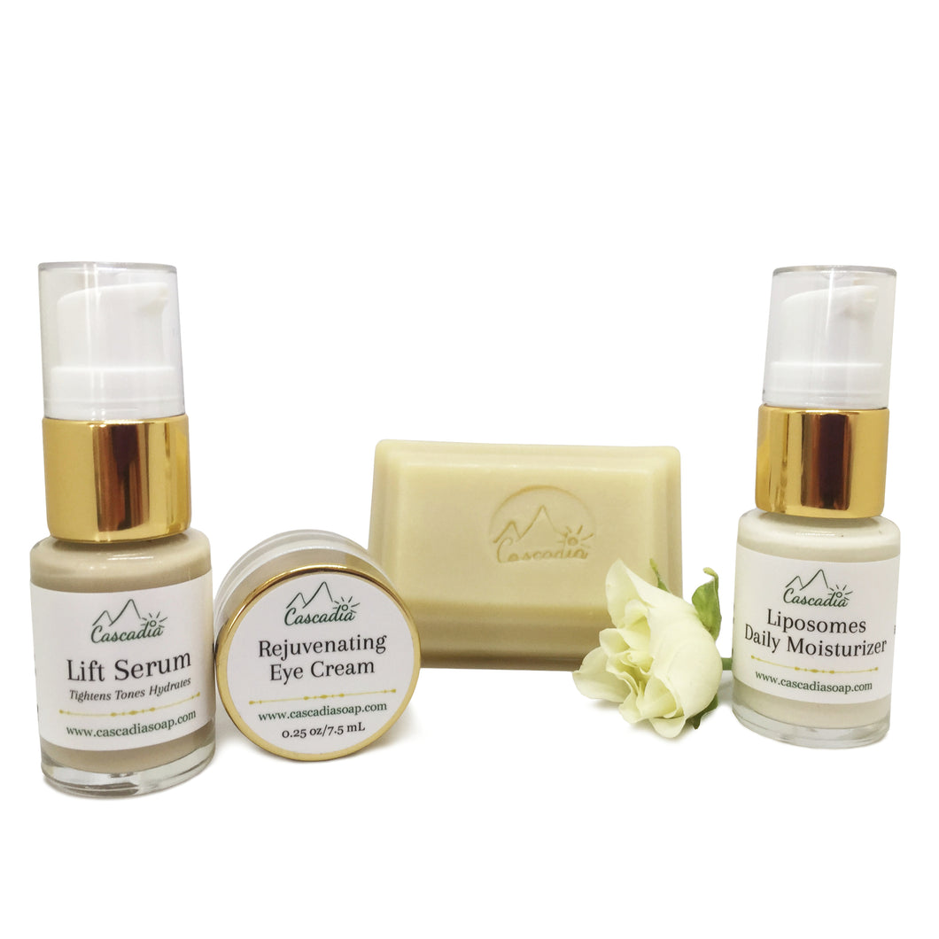 Skincare Sampler Kit by The Cascadia Soap Co.