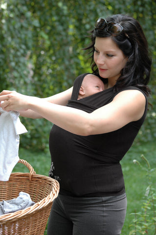 Hands Free Kangaroo Care in Vija Design clothing