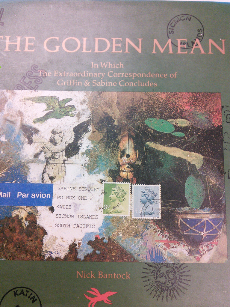 The golden Mean. In which the Extraordinary correspondence between Griffin and Sabine Concludes