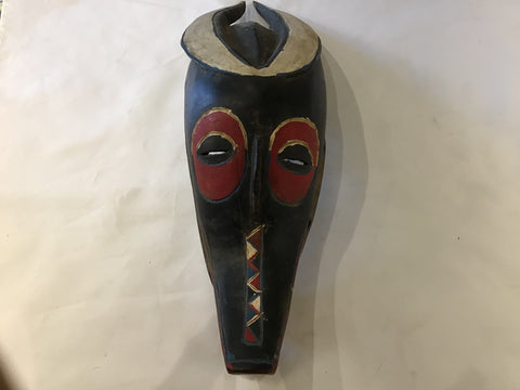 Antelope/ crocodile mask