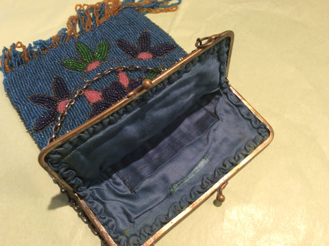 Vintage beaded evening bag c.1910