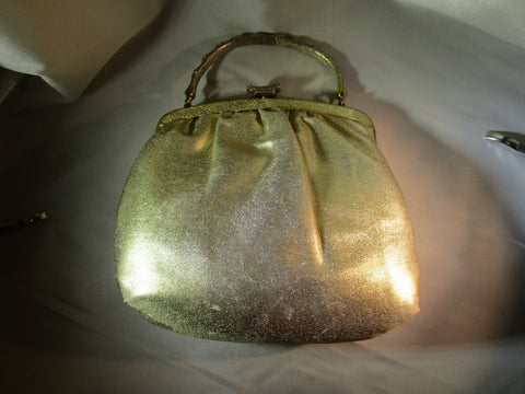 Ande' Gold clutch