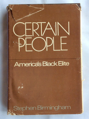 Certain People: America's Black Elite