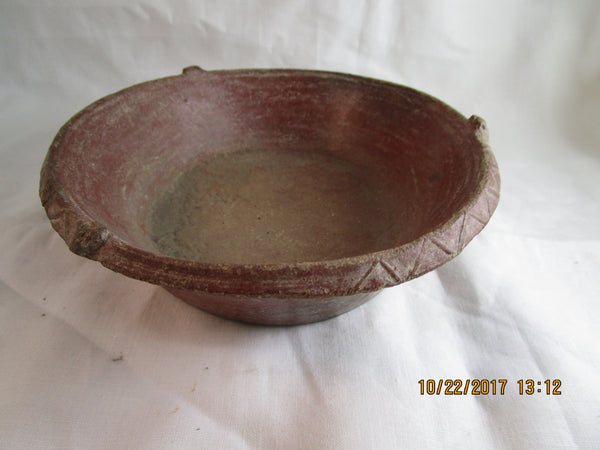 Small Mexican Decorated Dish