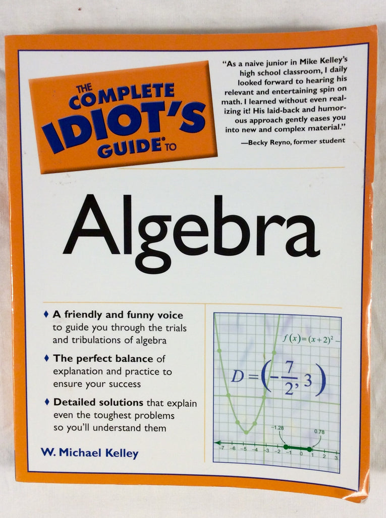 The Complete Idiot's Guide to Algebra
