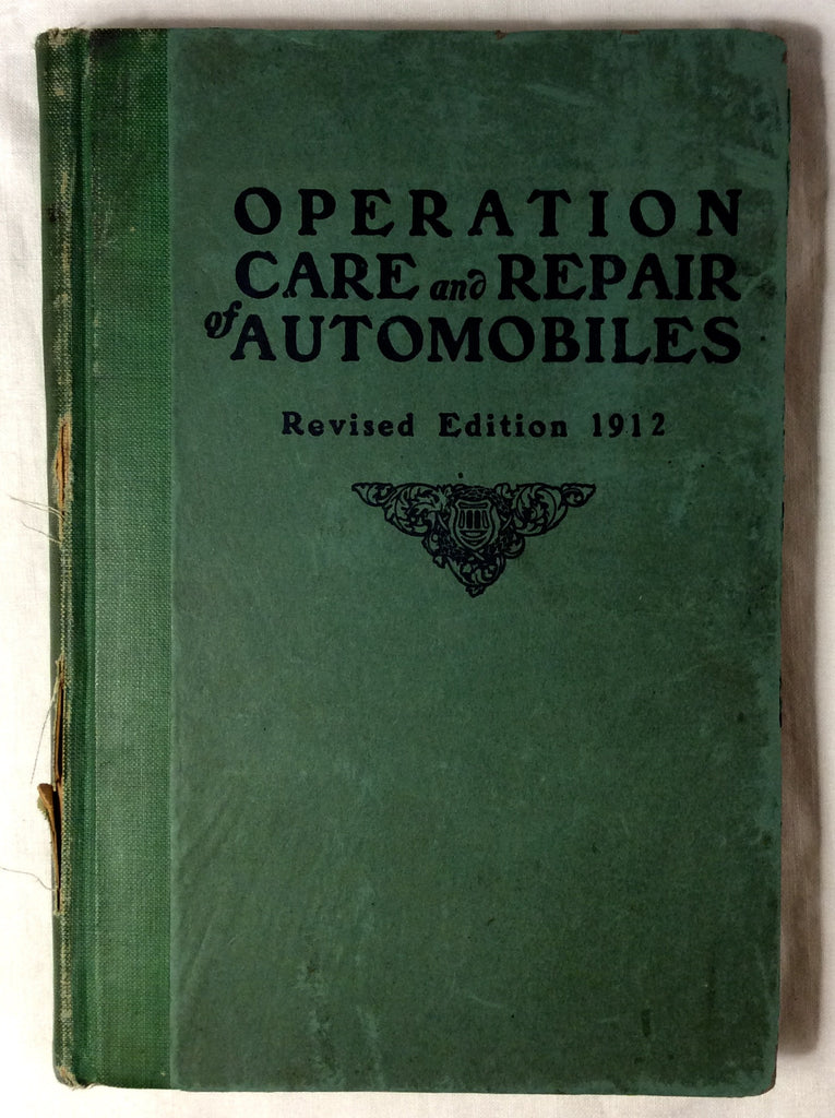 Operation, Care and Repair of Automobiles