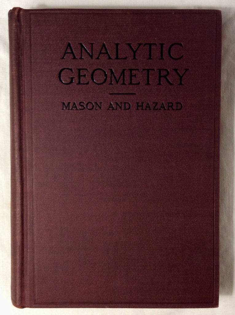 Analytic Geometry