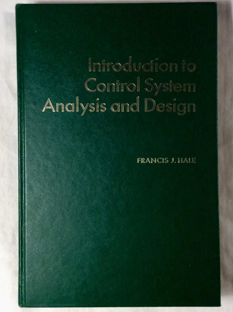 Introduction to Control System Analysis and Design