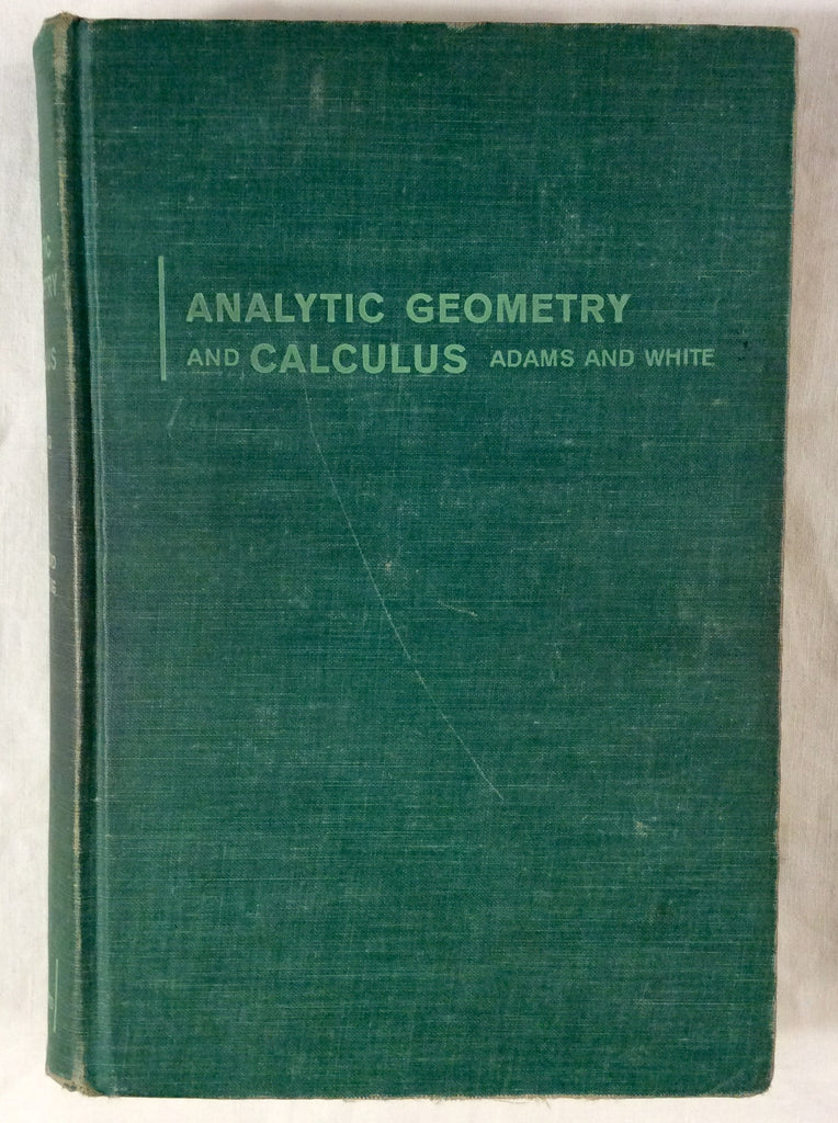 Analytic Geometry and Calculus